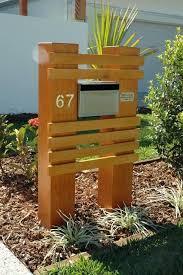 Pin By Sandee Scimeca On Storage Diy Mailbox Mailbox Landscaping Letter Box Design