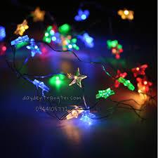 Đèn led nhiều màu - Dây đom đóm ngôi sao - Dây Đèn Trang Trí Giá Rẻ