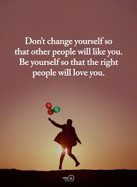 Friendship quotes: Don't Change Yourself So That Another People ...