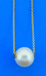 denny wong pearl necklace 14k yellow