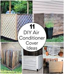 11 Diy Air Conditioner Cover Ideas Try This Weekend Diy Crafts
