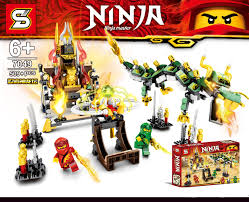 Sheng Yuan 7049 (NOT Lego Ninjago Movie Ninja Master ) Xếp hình ...