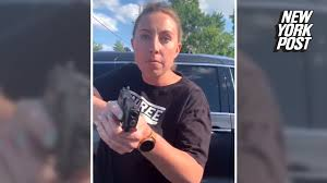 white woman arrested for pulling gun ...
