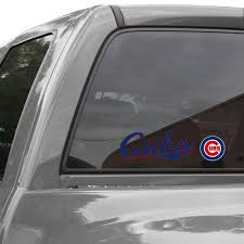 Wincraft Chicago Cubs 3 X 10 Perfect Cut Decal Royal Blue