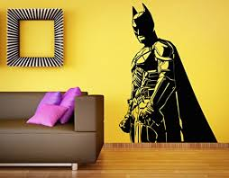 Batman Wall Decal Vinyl Sticker The Dark Knight Superhero Decal Home Mural Kids Room Decor Baby B07739hhtl