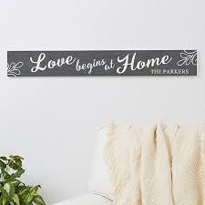 personalized wooden signs family home quotes