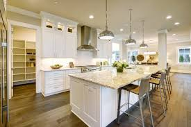 kitchen island designs with pendant lights