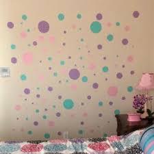 Pretty Pastel Polka Dot Wall Decals