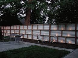 Fence Posts Rock N Roll Problems Modern Fence Design Corrugated Metal Fence Fence Decor