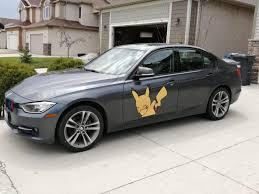 Found Pikachu Dabbing On A Bmw Winnipeg
