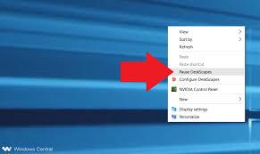 an animated desktop in windows 10