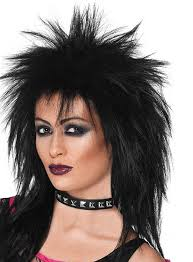 80s rocker eye makeup