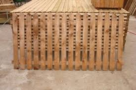 Brown Dipped Picket Fence Panels 3 X 6ft 12 Each In Nuneaton Warwickshire Gumtree