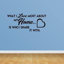 Family Wall Decals Home Quote Decal Vinyl Decor Family Quotes Wall Decals Jp232 Walmart Com Walmart Com