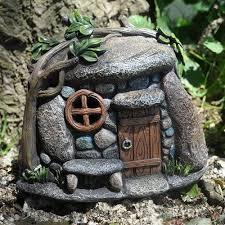 lemmon pebbles with lights fairy garden