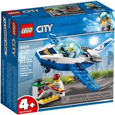 Đồ chơi lắp ráp LEGO City 60206 - Máy Bay Cảnh Sát (LEGO 60206 Sky ...
