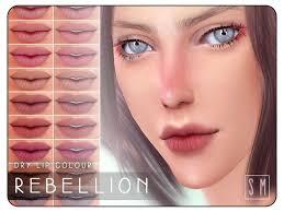 lipstick s the sims 4 catalog