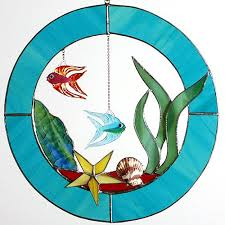 stained glass fish patterns free