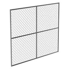 100 150 Chain Link Fencing Fencing The Home Depot