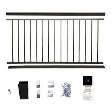 preassembled railing the home depot