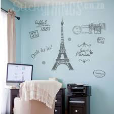 Paris Wall Art Paris Decal Wall Sticker Stickythings Co Za South Africa
