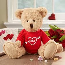 personalized valentine s day teddy bear