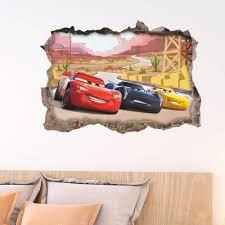 3d Effect Window Wall Stickers Car Ferrari Sticker Vinyl Decal Decor Mural 26