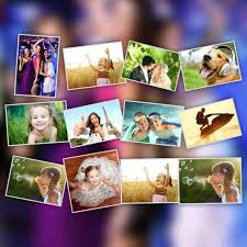 free photo collage poster