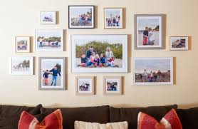 wall collage of picture frames