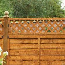 Diamond Lattice Trellis Fence Topper Garden Timber Online