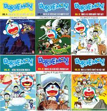 Sách - Combo 6 quyển truyện tranh Doraemon dài - được chọn tập ...
