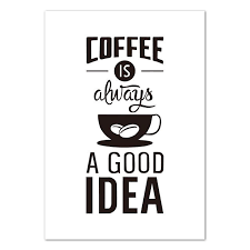 quotes on canvas black white coffee quotes the quoted word