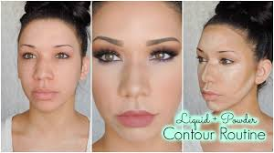 nose look shorter with makeup