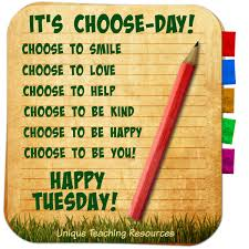 sayings and quotes about tuesday