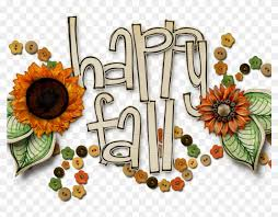 Download Happy Fall Clip Art - First Day Of Autumn Clipart - Free  Transparent PNG Clipart Images Download