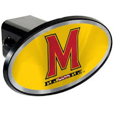 University Of Maryland Car Accessories Hitch Covers Maryland Terrapins Auto Decals Shop Umterps Com