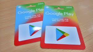 kartu google play kini tersedia dalam