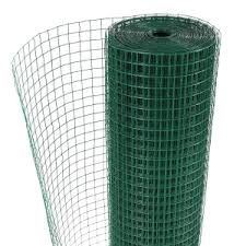 Green Plastic Coated Wire Fencing Quick Delivery Wire Fence