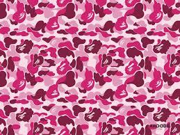 bape pink wallpapers top free bape