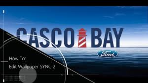 ford sync how to change background wall