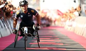 Former F1 driver and Italian Paralympic racer Alex Zanardi in ...