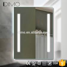 new led mirror touch screen wall