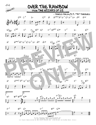 Over The Rainbow Sheet Music | Real Book – Melody & Chords