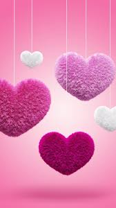 75 pink heart wallpapers on wallpaperplay