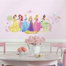 Disney Glow Within Princess 36 Peel Stick Wall Decals Rapunzel Ariel Cinderella Stickers Walmart Com Walmart Com