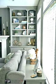 decor ideas for living room shelves