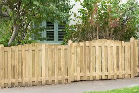 6ft X 3 5ft 1 83m X 1 1m Pressure Treated Decorative Hit And Miss Domed Top Fence Panel Forest Garden