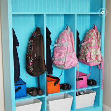 Make Your Own Storage Lockers Perfect For Kids Onecreativemommy Com
