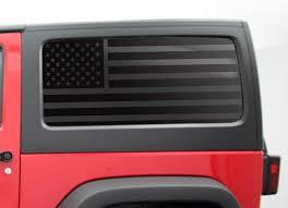 Product 2 Door Jeep Hardtop Flag Decal Regular Usa American Wrangler Jk Side Window