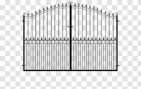 Fence Gate Material Wrought Iron Farnham Gates And Fences Uk Transparent Png
